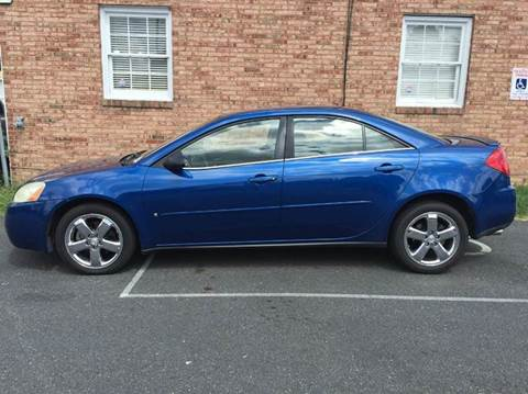 2007 Pontiac G6 for sale at DLUX Motorsports in Fredericksburg VA