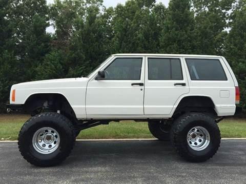 1998 Jeep Cherokee for sale at DLUX Motorsports in Fredericksburg VA