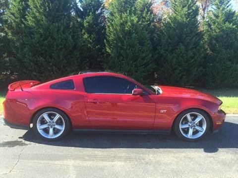 2010 Ford Mustang for sale at DLUX Motorsports in Fredericksburg VA