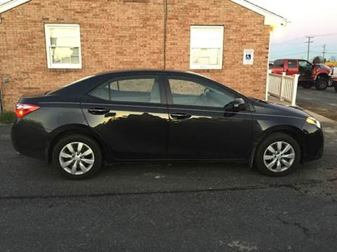 2014 Toyota Corolla for sale at DLUX Motorsports in Fredericksburg VA