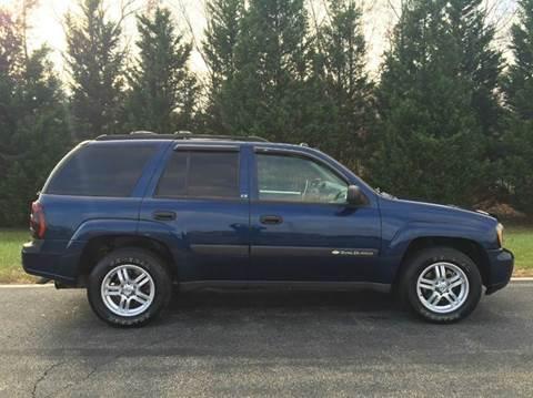 2004 Chevrolet TrailBlazer for sale at DLUX Motorsports in Fredericksburg VA