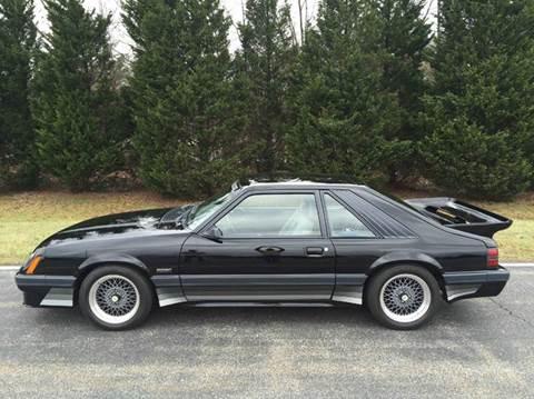 1986 Ford Mustang for sale at DLUX Motorsports in Fredericksburg VA