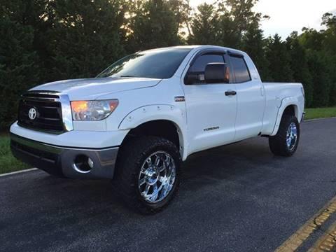 2012 Toyota Tundra for sale at DLUX Motorsports in Fredericksburg VA