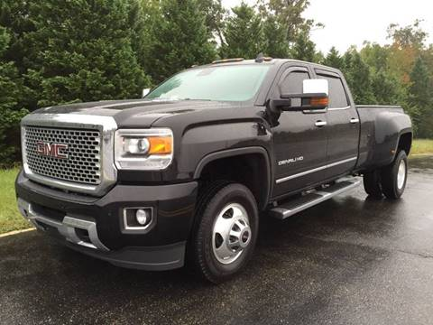 2016 GMC Sierra 3500HD for sale at DLUX Motorsports in Fredericksburg VA