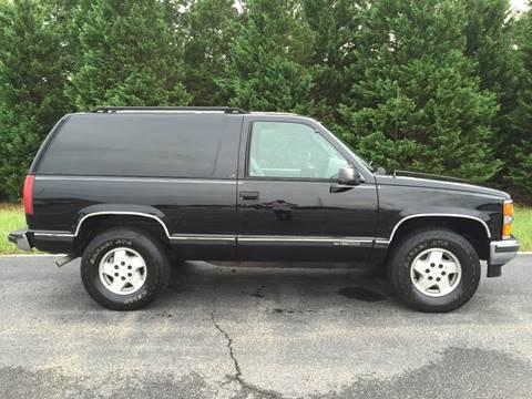 1995 Chevrolet Tahoe for sale at DLUX Motorsports in Fredericksburg VA