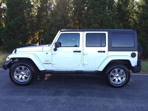 2015 Jeep Wrangler Unlimited for sale at DLUX Motorsports in Fredericksburg VA