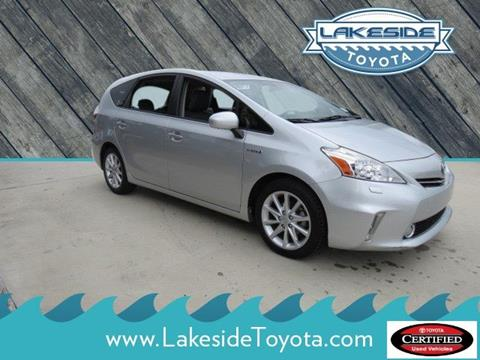 2014 Toyota Prius v for sale in Metairie LA