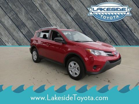 2015 Toyota RAV4 for sale in Metairie LA