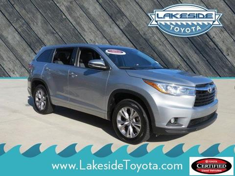 2016 Toyota Highlander for sale in Metairie, LA