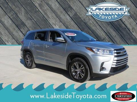 2017 Toyota Highlander for sale in Metairie LA