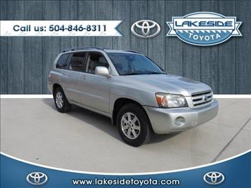 2005 Toyota Highlander for sale in Metairie, LA