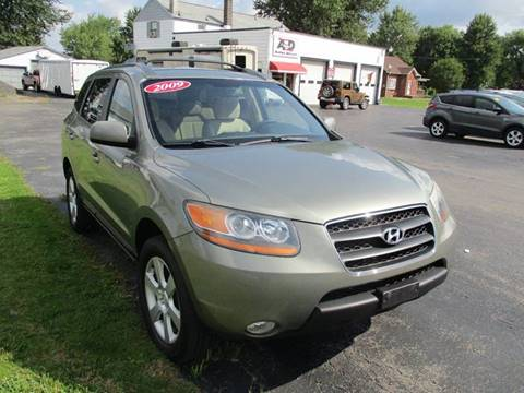 2009 Hyundai Santa Fe for sale in Alden NY