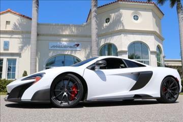 2016 McLaren 675LT for sale in Clearwater, FL