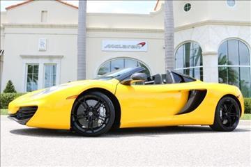 2014 McLaren MP4-12C Spider for sale in Clearwater, FL