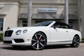 2014 Bentley Continental GTC V8 S for sale in Clearwater, FL