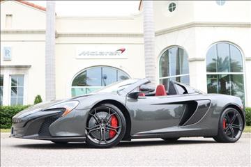 2016 McLaren 650S Spider for sale in Clearwater, FL