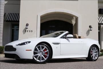 2015 Aston Martin V8 Vantage for sale in Clearwater, FL