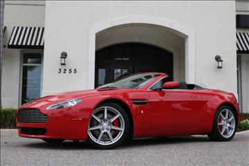 2008 Aston Martin V8 Vantage for sale in Clearwater, FL