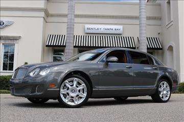 2012 Bentley Continental Flying Spur for sale in Clearwater, FL