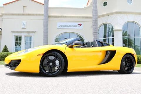 2014 McLaren MP4-12C Spider for sale in Clearwater, FL