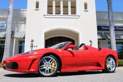 2008 Ferrari F430 Spider for sale in Clearwater, FL