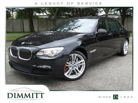 2012 BMW 7 Series for sale in Clearwater, FL