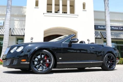 2011 Bentley Continental GTC Speed for sale in Clearwater, FL