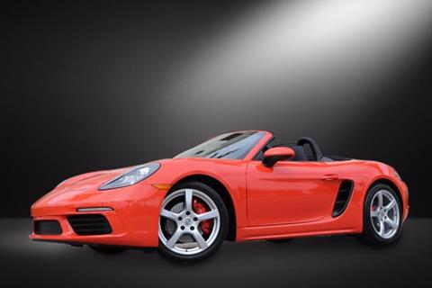2017 Porsche 718 Boxster for sale in Clearwater, FL