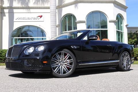2016 Bentley Continental GTC Speed for sale in Clearwater, FL