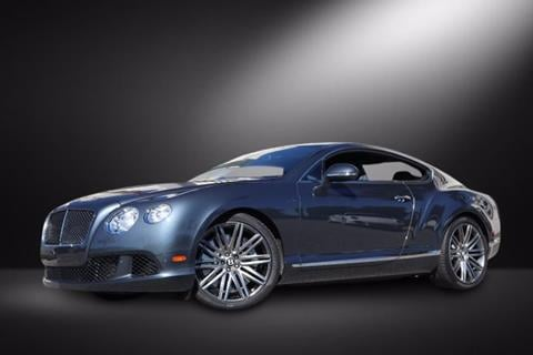 2013 Bentley Continental GT Speed For Sale in Massena, NY ...