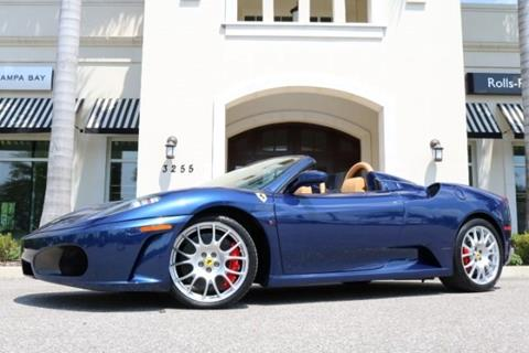2009 Ferrari F430 Spider For Sale In Clearwater Fl