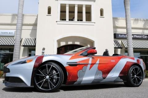 2016 Aston Martin Vanquish for sale in Clearwater, FL