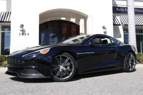 2014 Aston Martin Vanquish for sale in Clearwater, FL