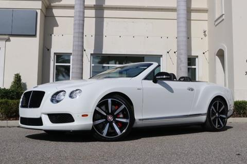 2014 Bentley Continental for sale in Clearwater, FL