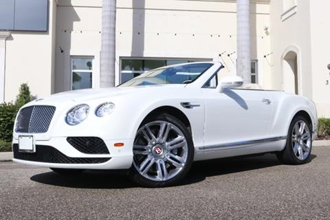 2016 Bentley Continental for sale in Clearwater, FL