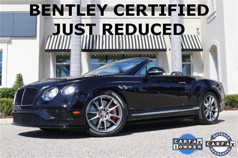 2017 Bentley Continental for sale in Clearwater, FL