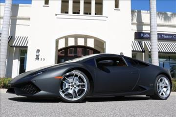 2015 Lamborghini Huracan for sale in Clearwater, FL