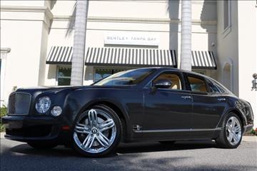 2011 Bentley Mulsanne for sale in Clearwater, FL