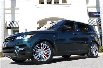 2016 Land Rover Range Rover Sport for sale in Clearwater, FL