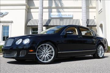 2011 Bentley Continental Flying Spur Speed for sale in Clearwater, FL
