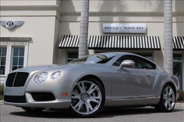2013 Bentley Continental GT V8 for sale in Clearwater, FL