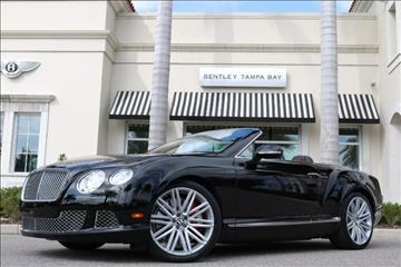 2014 Bentley Continental GT Speed for sale in Clearwater, FL