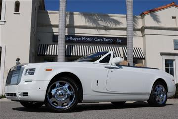 2013 Rolls-Royce Phantom Drophead Coupe for sale in Clearwater, FL