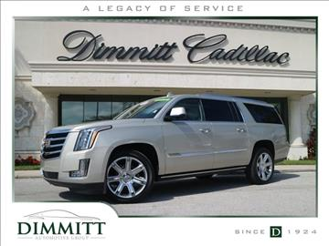 2016 Cadillac Escalade ESV for sale in Clearwater, FL