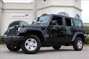2017 Jeep Wrangler Unlimited for sale in Clearwater, FL