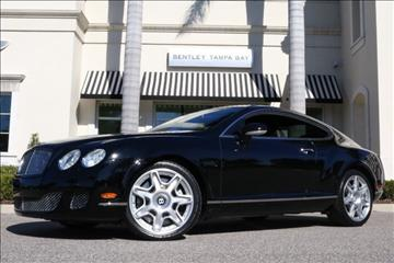 2009 Bentley Continental GT for sale in Clearwater, FL