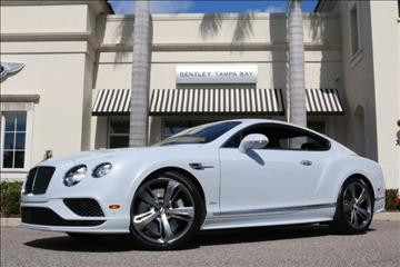 2016 Bentley Continental GT Speed for sale in Clearwater, FL
