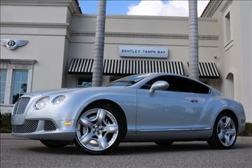 2012 Bentley Continental GT for sale in Clearwater, FL