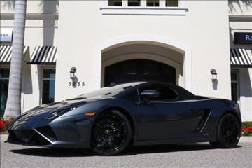 2013 Lamborghini Gallardo for sale in Clearwater, FL