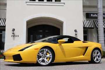 2007 Lamborghini Gallardo for sale in Clearwater, FL